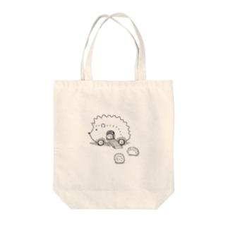 ハリネズミのスミカ Tote bags