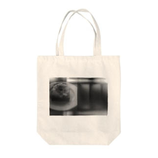 モノクロアート Tote bags