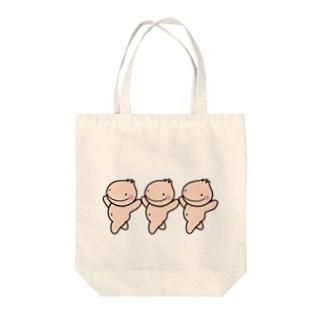 ランランたまっころちゃん Tote bags