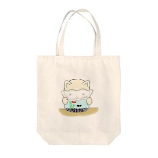 金魚ねこ Tote bags