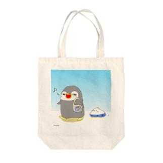 ぺんぺん&ぴよ太のお散歩 Tote bags