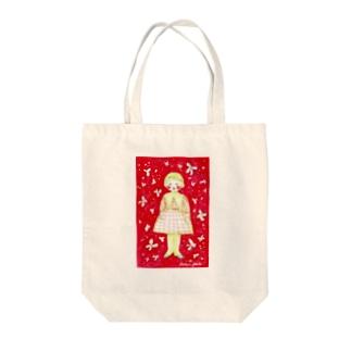 hanahana Tote bags