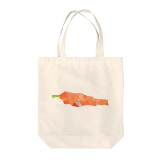 polyshopのcarrot Tote bags