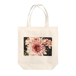 きく-手書き風パステル Tote bags