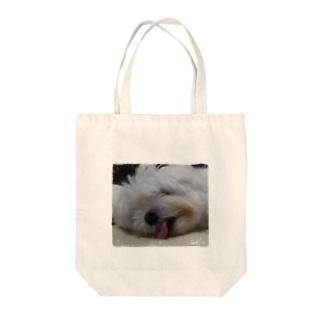 イヌのかばん Tote bags