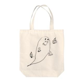 おばけ Tote bags