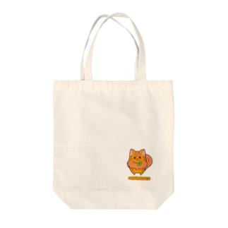 [フルーツ猫シリーズ]みかん猫のマンダリン・背景なしver. トートバッグ