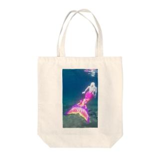 リトルマーメイド Tote bags
