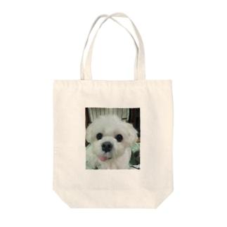 いがんだイヌ Tote bags