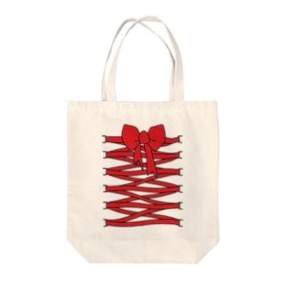 Cuteにアピール Tote bags