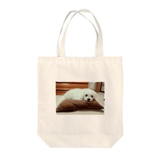 まるまるイヌ Tote bags