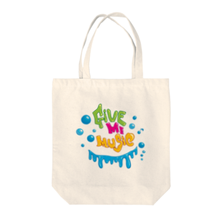 CUBIC ITEMのGive Me Music Tote bags