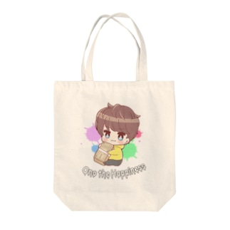 おの the Happiness Tote bags
