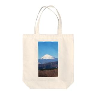 まうんとふじ。 Tote bags