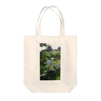 めぇー。 Tote bags