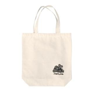 ぱすた の もむも Tote bags