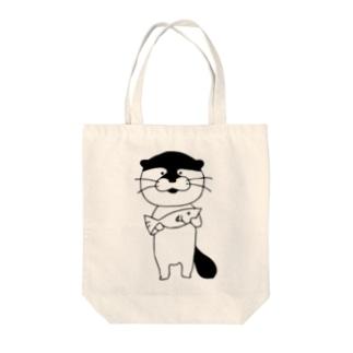 カワウソさん Tote bags