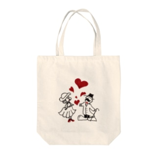 sunny_spotの紳士と淑女2 Tote bags