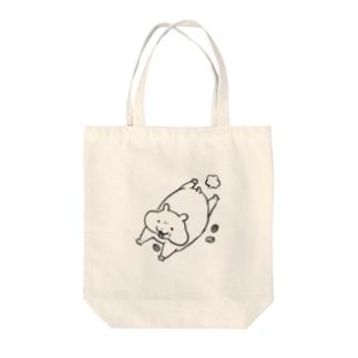 kurun's petit factory By 星咲まゆのゆるかわハムスター 脱走 Tote bags