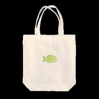 ヒロコイチノセ かみさまショップのさかな -HirocoIchinose- Tote bags