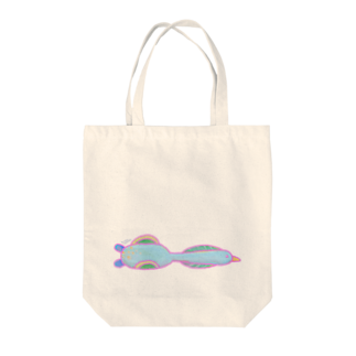 ヒロコイチノセ かみさまショップの低めを飛ぶ長い鳥 -HirocoIchinose- Tote bags