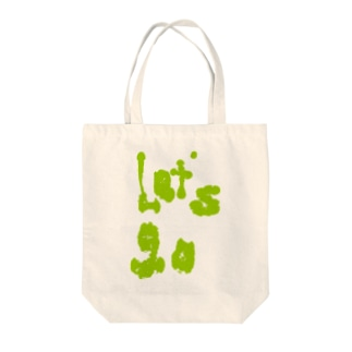 lets go Tote bags