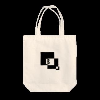 シンプルデザイン:Tシャツ・パーカー・スマートフォンケース・トートバッグ・マグカップのシンプルデザインアルファベットBトートバッグ