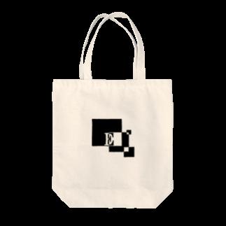 シンプルデザイン:Tシャツ・パーカー・スマートフォンケース・トートバッグ・マグカップのシンプルデザインアルファベットEトートバッグ
