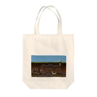 「獅子として生きる」フェネック -迷路- Tote bags
