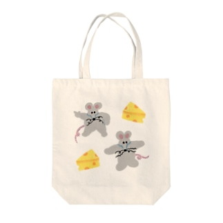 フィーバーねずみの予感 Tote bags