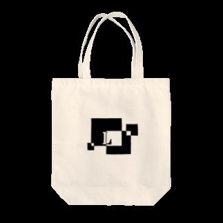 シンプルデザイン:Tシャツ・パーカー・スマートフォンケース・トートバッグ・マグカップのシンプルデザインアルファベットLトートバッグ
