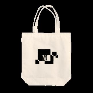シンプルデザイン:Tシャツ・パーカー・スマートフォンケース・トートバッグ・マグカップのシンプルデザインアルファベットMトートバッグ