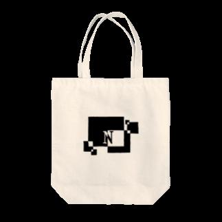 シンプルデザイン:Tシャツ・パーカー・スマートフォンケース・トートバッグ・マグカップのシンプルデザインアルファベットNトートバッグ