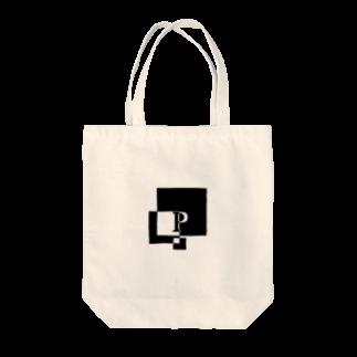 シンプルデザイン:Tシャツ・パーカー・スマートフォンケース・トートバッグ・マグカップのシンプルデザインアルファベットPトートバッグ
