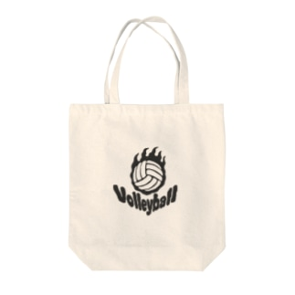 Fire volleyball🔥🏐・ボール一個バージョン Tote bags