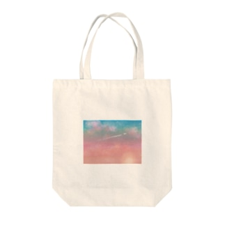夕焼け Tote bags