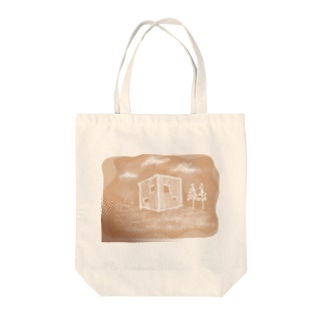OUCHI□オウチ Tote bags
