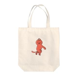 赤い何か Tote bags