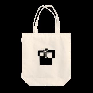 シンプルデザイン:Tシャツ・パーカー・スマートフォンケース・トートバッグ・マグカップのシンプルデザインアルファベットUトートバッグ