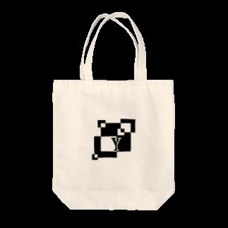 シンプルデザインアルファベットY トートバッグ