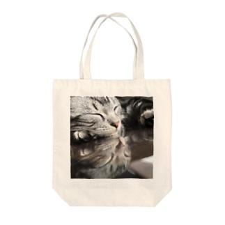 反射猫 Tote bags