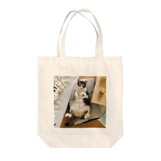 ぎんじさん Tote bags