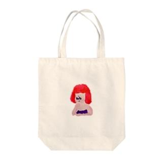 フムム…… Tote bags