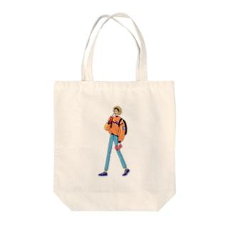 グッドモーニング、アメリカ Tote bags