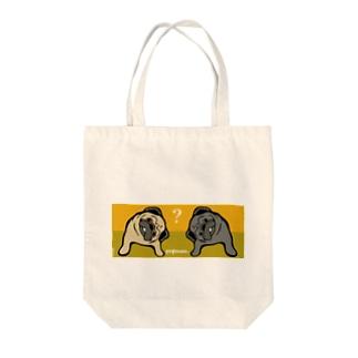 ぱぐこんび Tote bags