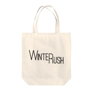 WINTER RUSHオリジナルグッズ Tote bags