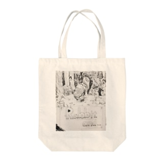 Rabbit and... Tote bags