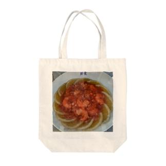 エビ・チリ Tote bags