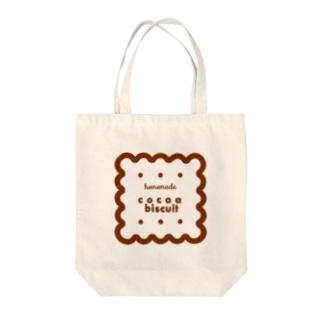 ココアビスケット Tote bags