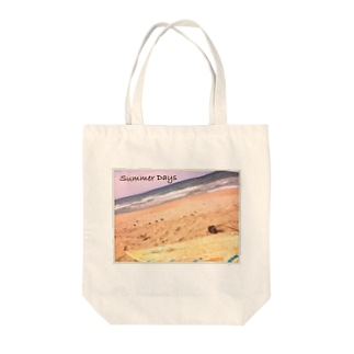 summer days Tote bags